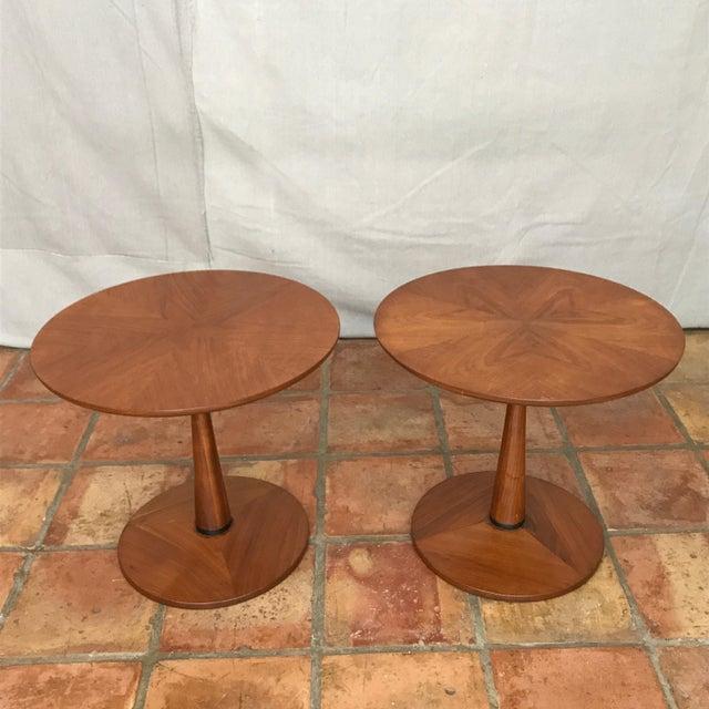 Kipp Stewart Walnut Side Table - Image 3 of 8