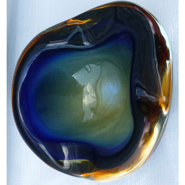 Italian Seguso Murano Glass Bowl - Image 4 of 9