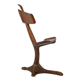 California Crafts Movement Chair Sculpture For Sale