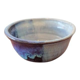 Blue Studio Pottery Decorative Bowl