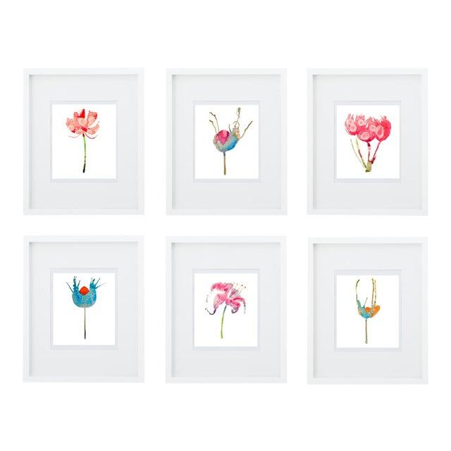 Botanical Art Print Grouping - Set of 6 - Image 1 of 8