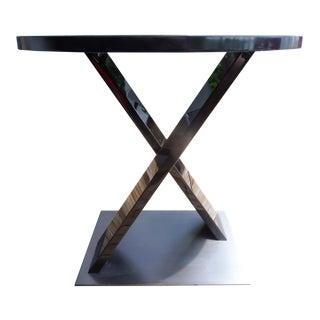 Boccherini Santos Rosewood & Bronze Round Table by Armani Casa for Armani Casa