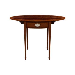 Traditional Ethan Allen Pembrook Accent Table For Sale