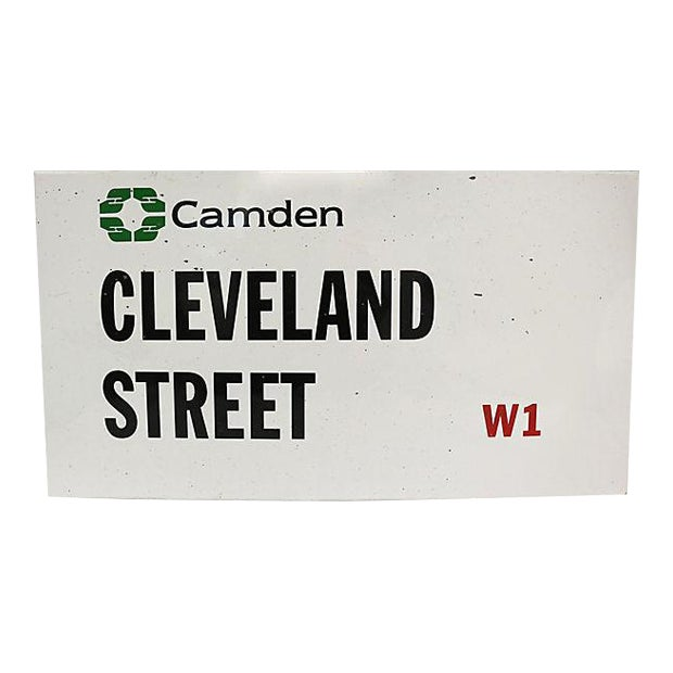 London Camden Borough Street Sign For Sale
