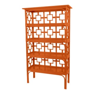 Sobe Etagere - Orange For Sale