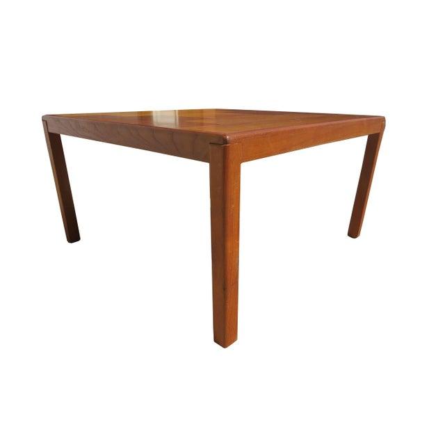 Vejle Stole & Møbelfabrik 1960s Danish Mid-Century Modern Henning Kjaernulf Vejle Stole Møbelfabrik Side Table For Sale - Image 4 of 11