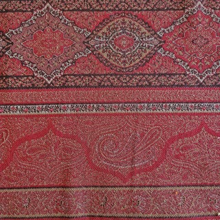Clarence House Astragalus Paisley Designer Fabric by the Yard For Sale