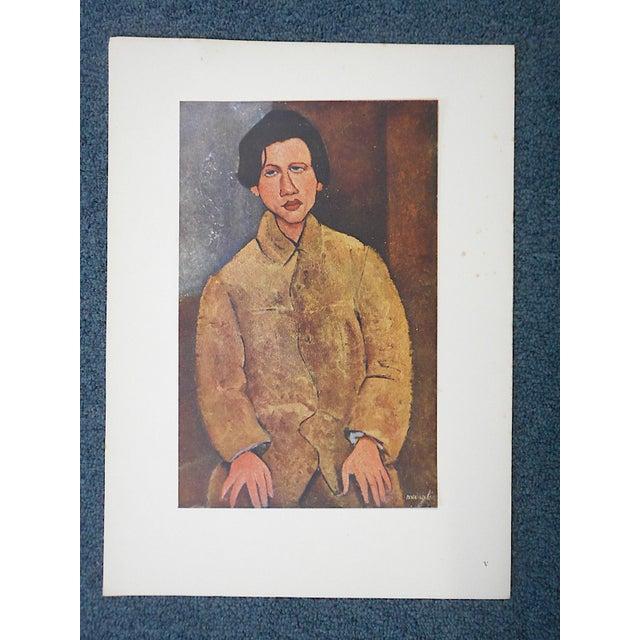 Vintage Ltd. Ed. Modernist Lithograph-Amadeo Modigliani-Folio Size - Image 2 of 3