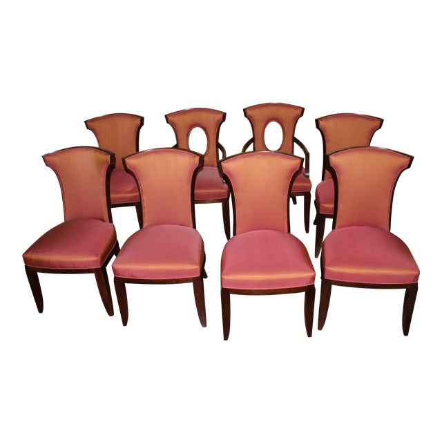 Barbara Barry Realized by Henredon Chairs - Set of 8 For Sale