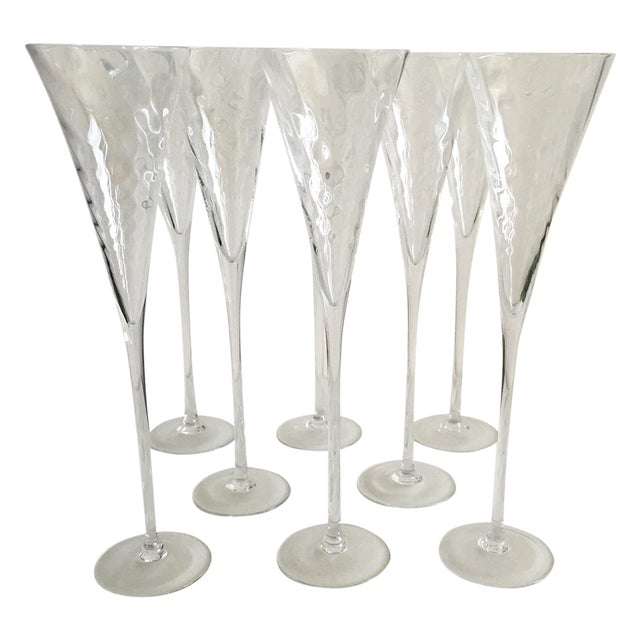 Champagne Flutes - 8 - Image 1 of 6