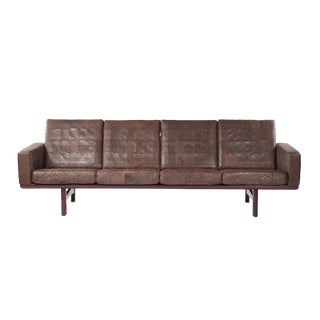 1950s Vintage Hans J Wegner By Getama Sofa For Sale