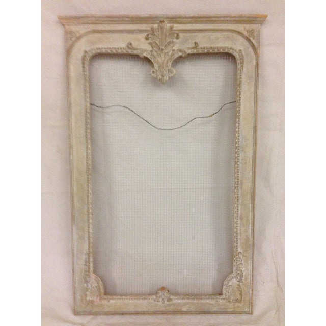 Hand Carved Mirror Frame - Image 2 of 5