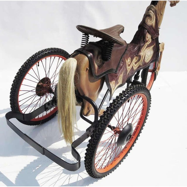 Adult Size, Carnival Horse Racing Bike For Sale - Image 4 of 9