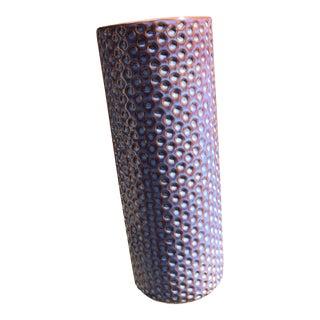 Stig Lindbergh Style Modern Ceramic Vase For Sale