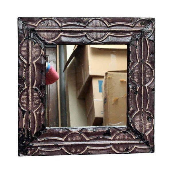 This mirror is hand crafted using antique tin ceiling tiles. It is ready to ship. This item is unique. Contact us about...