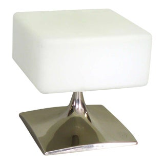 Square Form Table Lamp by Laurel For Sale