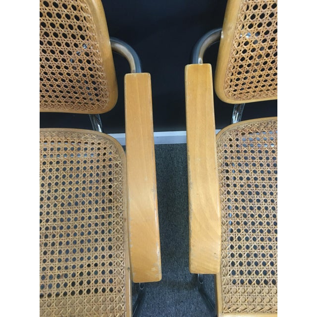 Italian Marcel Breuer Style Chairs - Set of 4 - Image 7 of 7