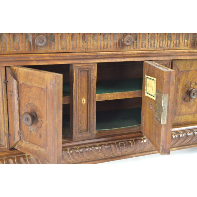 19th Century Antique Miniature Sideboard - Image 8 of 10