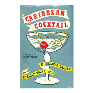 Caribbean Cocktail Book For Sale