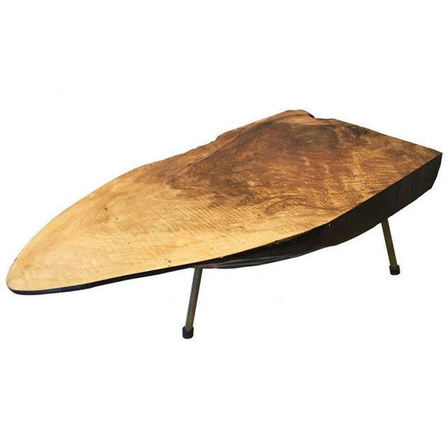 Big Tree Table by Carl Aubock, 1950s For Sale - Image 11 of 11
