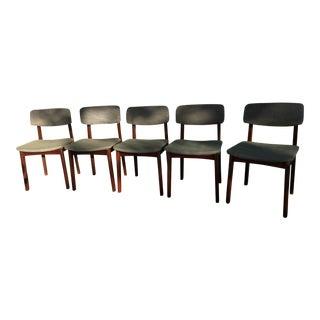 Mid-Century Danish Dining Chairs - Set of 5