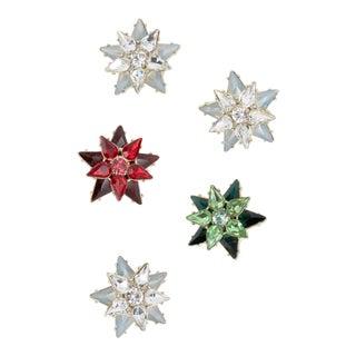 Mini Star Clip Set - Set of 5 For Sale