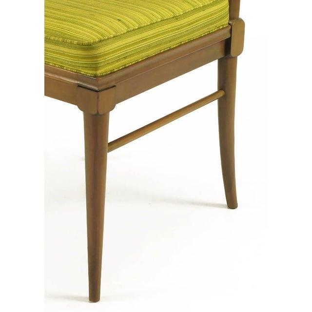 Six J. Stuart Clingman Dining Chairs by John Widdicomb For Sale - Image 9 of 11