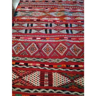 """Vintage Hand-Woven Moroccan Tribal Rug - 2'6"""" X 3'4"""" Preview"""