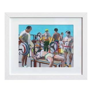 """Pump #2"" Original Artwork by Fabio Coruzzi For Sale"