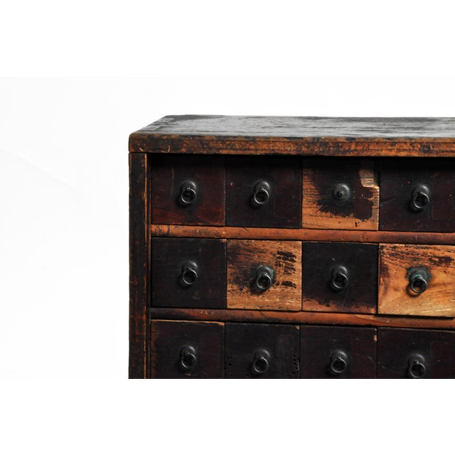 Metal Personal Medicine Chest on Metal Base For Sale - Image 7 of 13