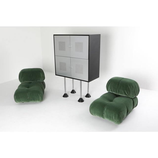 1980s Pastoe Postmodern Memphis Style Cabinet by Gerard Van Den Berg For Sale - Image 11 of 12