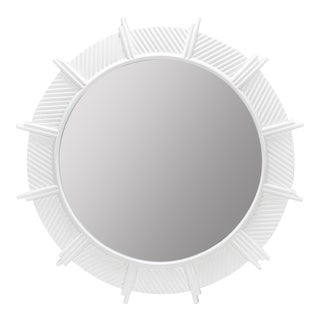 Margo Wall Mirror, Glossy White For Sale