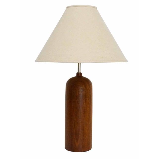 Danish Modern Teak Table Lamp - Image 5 of 5