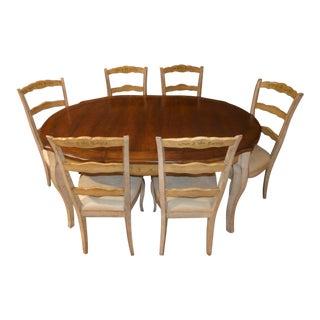 Venetian Style Farmhouse Dining Set