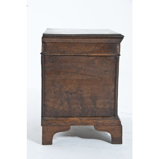 Vintage Oak Trunk For Sale - Image 5 of 10