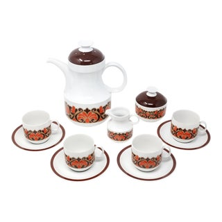 Vintage Coffee and Tea Service by Schumann Arzberg - Set of 11 For Sale