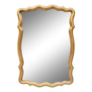Vintage Hollywood Regency Style Bassett Mirror For Sale