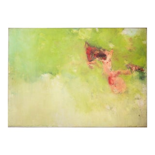 1969 George D'Aleida Oil on Linen Painting For Sale