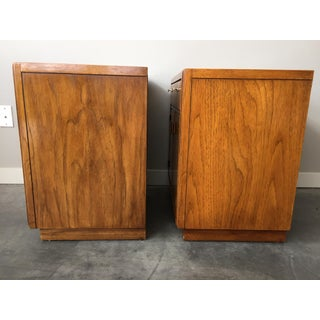 1970's Vintage Mid Century Drexel Consensus Nightstands-a Pair Preview