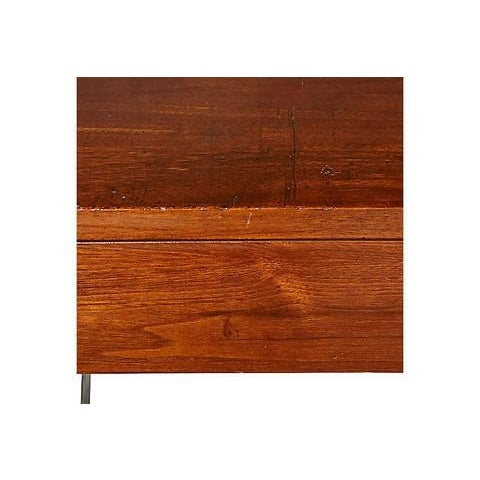 1960s Walnut Cabinet with Hairpin Legs - Image 2 of 6
