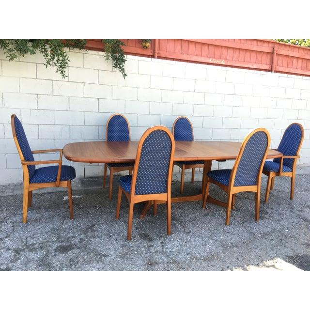 Mid-Century Dyrlund Teak Dining Set - Image 4 of 11