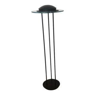 """1989 Modern Robert Sonneman for George Kovacs Smaller """"Saturn"""" Floor Lamp For Sale"""