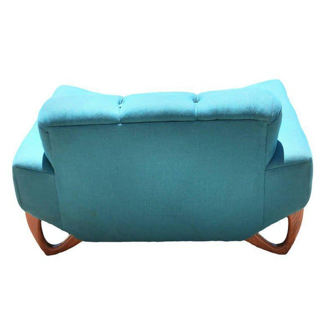 Mid-Century Modern Lounge Chair in the Manner of Adrian Pearsall For Sale - Image 5 of 6