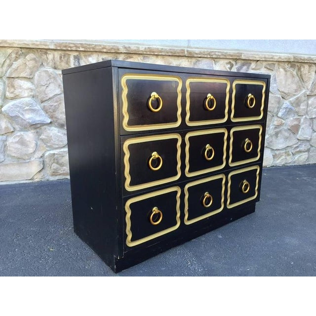 Hollywood Regency Pair Dorothy Draper Style Espana Chests For Sale - Image 3 of 7