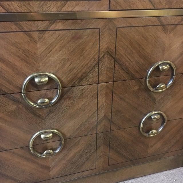 Mastercraft Zebrano Wood Armoire - Image 6 of 10