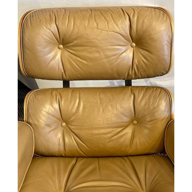Charles Eames, Herman Miller Midcentury Chair and Ottoman For Sale - Image 11 of 13