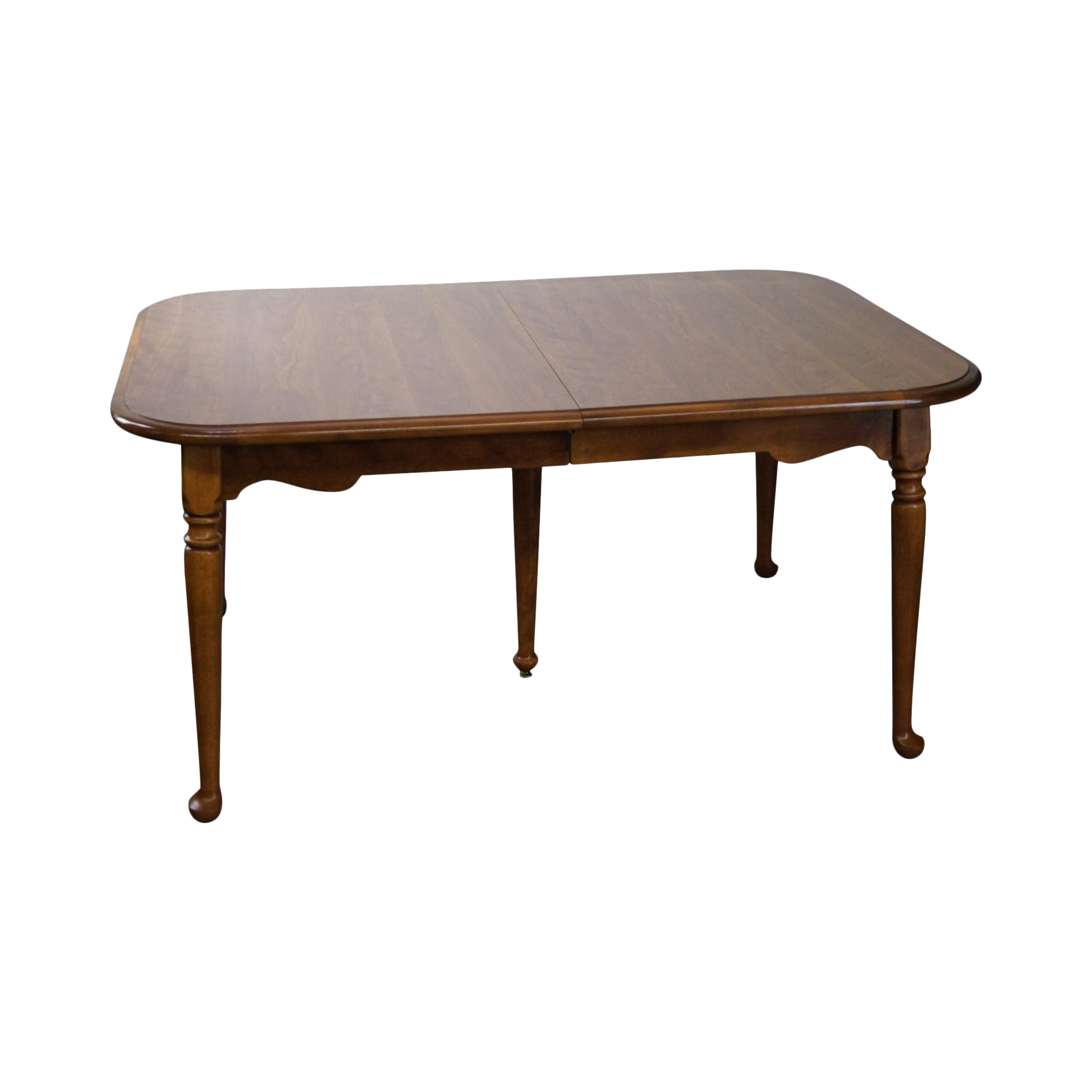 Ethan Allen Traditional Maple Dining Table W 2 Leaves