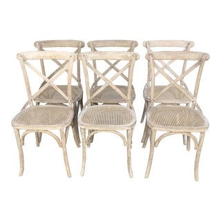 Restoration Hardware Dining Chairs-Set of 6 For Sale