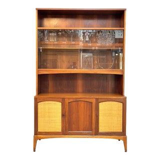 Mid Century Modern Hutch/Bookshelf by Lane For Sale