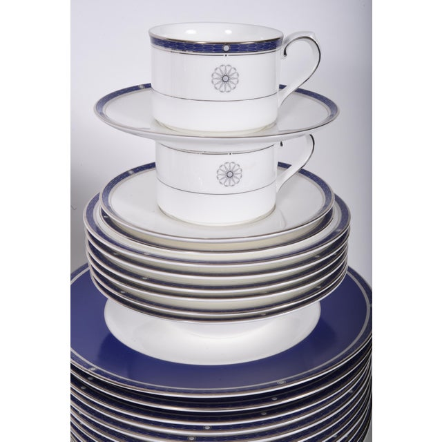 Wedgwood English Porcelain Dinnerware Service for Ten People - 83 Piece Set For Sale - Image 9 of 13
